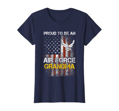 Proud Air Force Grandma Vintage T-shirts