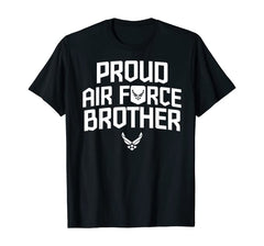Cool Proud Air Force Brother T-shirts