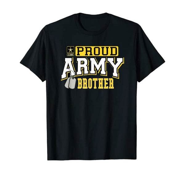Proud Army Brother Military T-shirts