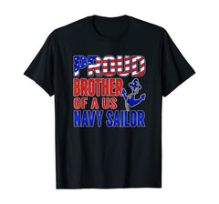 Proud Brother of a US Sailor T-shirts