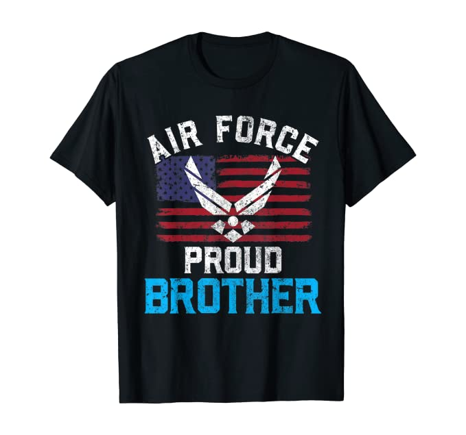 Proud Air Force Brother Cool T-shirts