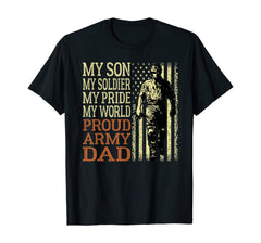 My Son Soldier Proud Army Dad T-shirts