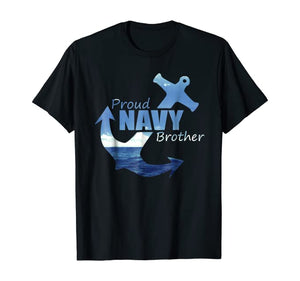 Proud Navy Brother Ocean T-shirts