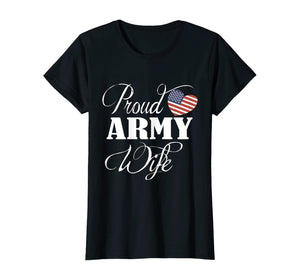 Army Wife USA T-shirts