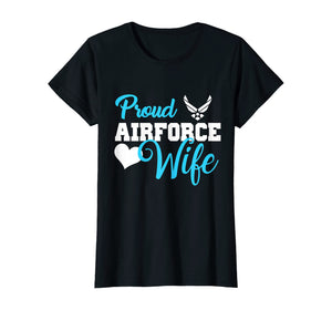 Proud Air Force Airman Wife T-shirts