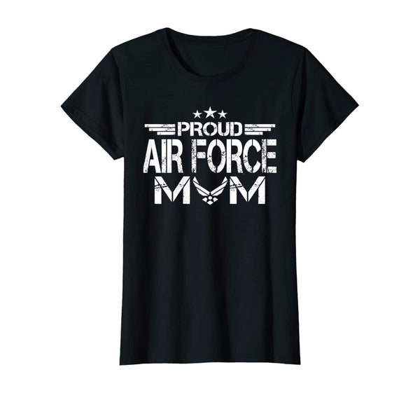 Proud Air Force Mom Military T-shirts