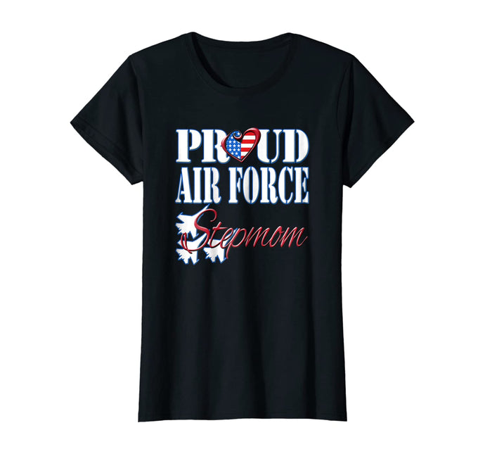Proud Air Force Stepmom T-shirts