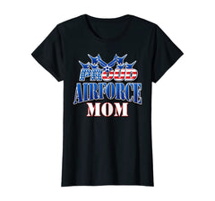 Proud Air Force Mom Patriotic T-shirts