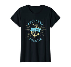 Anchored To My Coastie Wife T-shirts