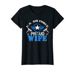 US Air Force Proud Wife T-shirts