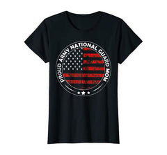 Proud Army National Guard Mom T-shirts