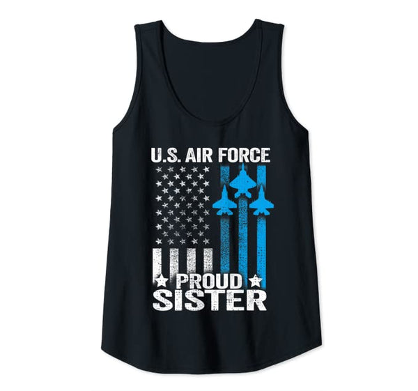 US Air Force Proud Sister Tank Top