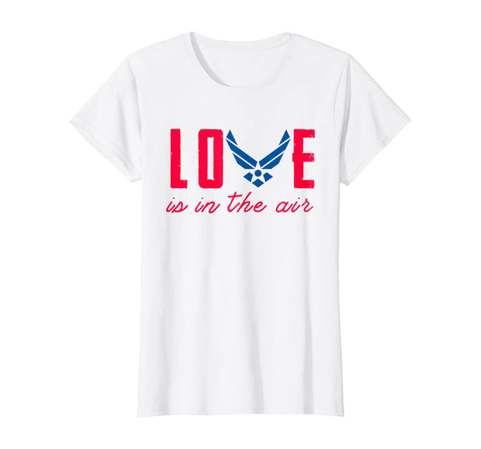 Love Is In The Air Force Parent T-shirts