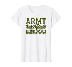 Army Wife Mess With T-shirts