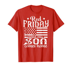 Red Friday Until My Son T-shirts