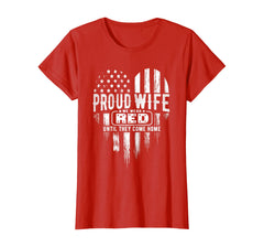 Proud Wife Red Friday T-shirts