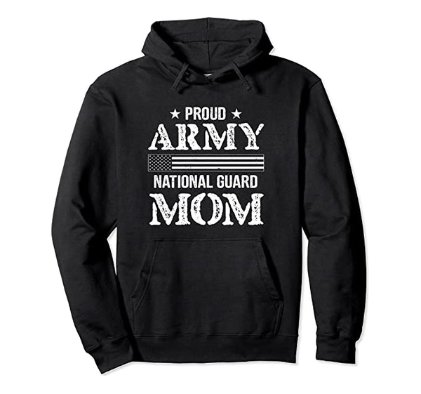 Proud Army National Guard Mom Hoodie