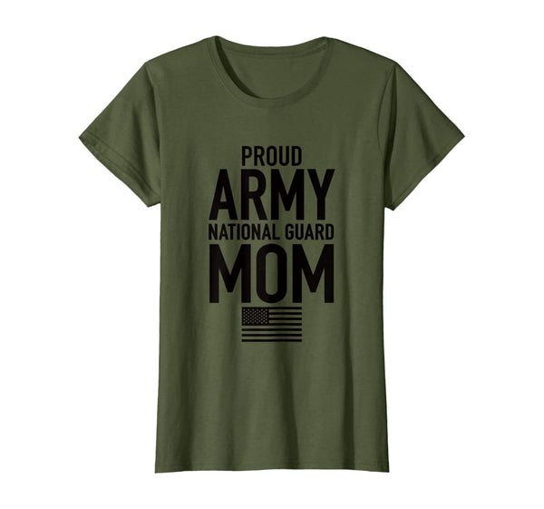Proud Army National Guard Mom Military T-shirts