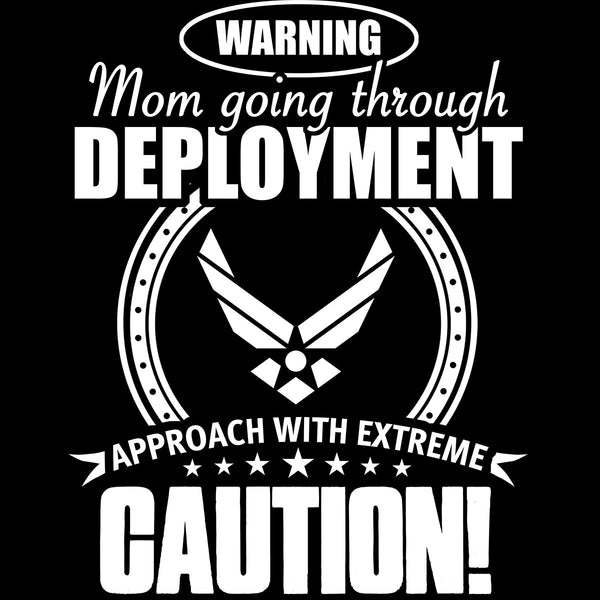 Air Force Mom Approach With Caution Decal