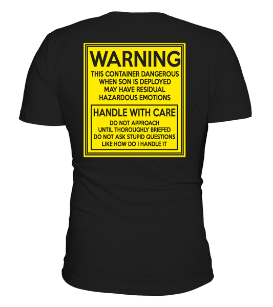 Army Mom Handle With Care T-shirts