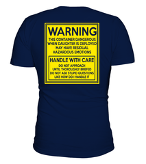 Army Mom Handle With Care Daughter T-shirts