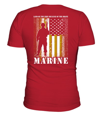Marine Mom Land Brave T-shirts