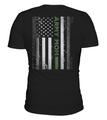 Army Mom Flag T-shirts