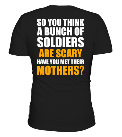 Army Moms Scary T-shirts