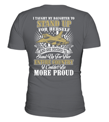 Air Force Dad More Proud Plus Daughter T-shirts