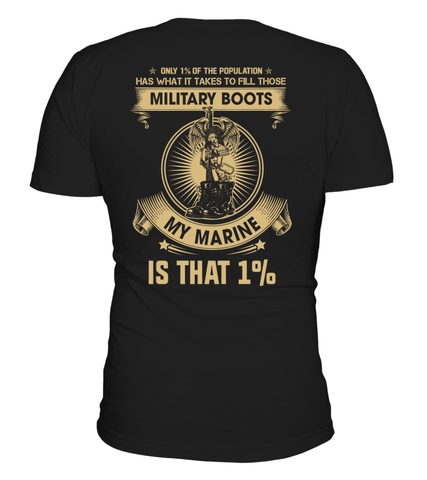 Marine Mom Fill Those Boots T-shirts