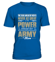 Army Mom Daughter Power T-shirts