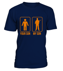 Military Mom Your My Son Halloween T-shirts