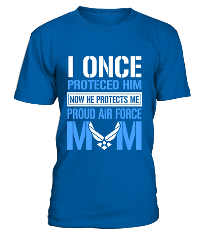 Air Force Mom Protects T-shirts