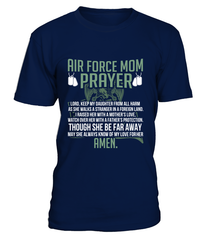Air Force Mom Prayer Daughter T-shirts