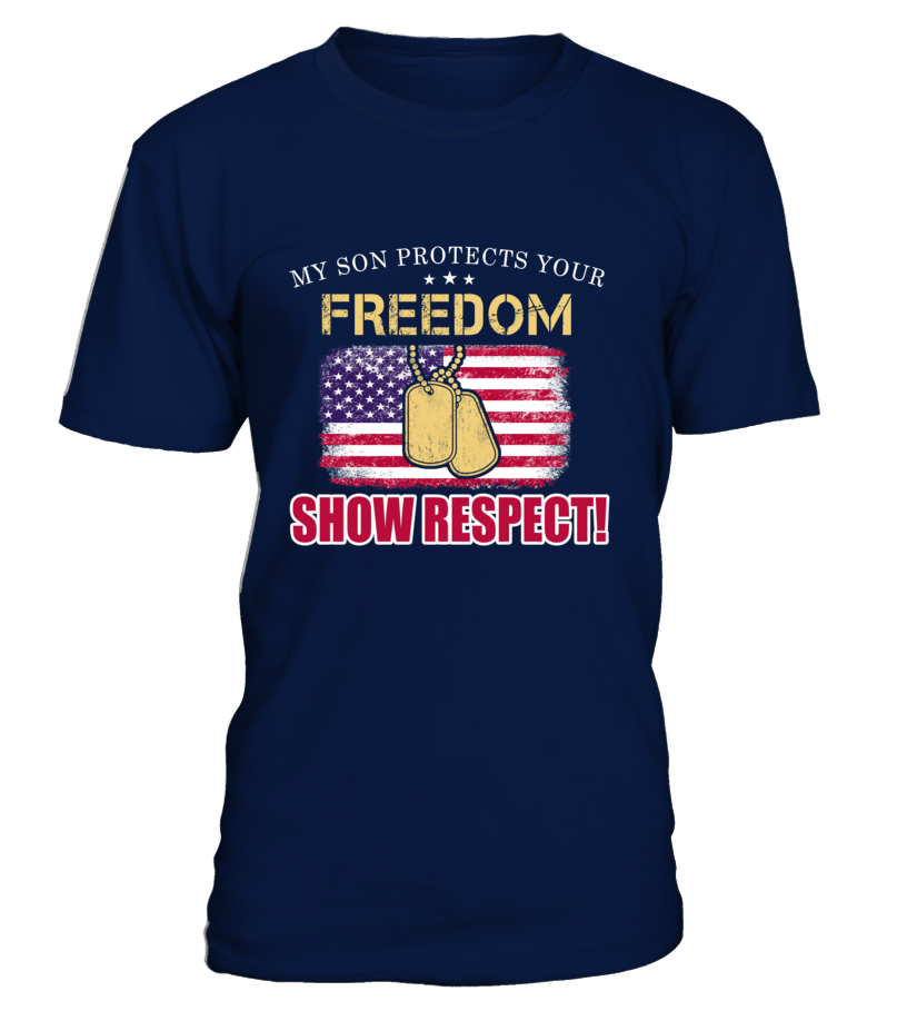 Army Mom Show Respect T-shirts
