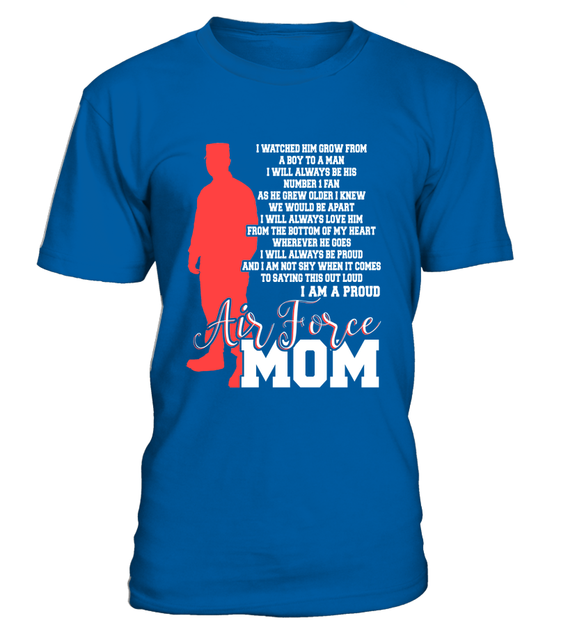 Air Force Mom Not Shy T-shirts - MotherProud