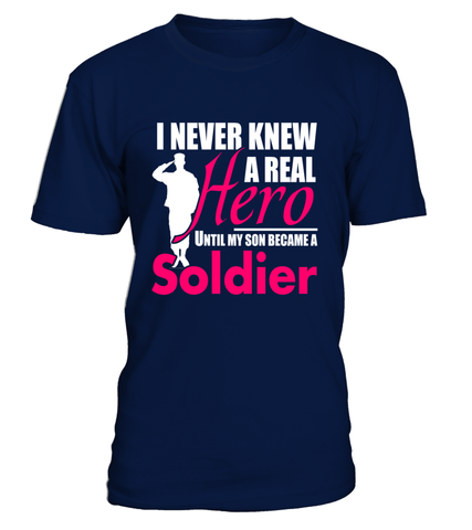 Army Mom Never Knew Until T-shirts