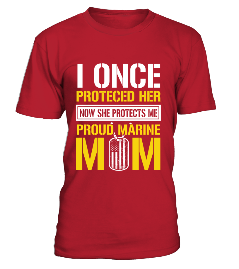 Marine Mom Protects Daughter T-shirts
