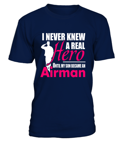 Air Force Mom Never Knew Until T-shirts