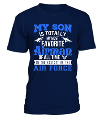 Air Force Mom My Favorite Airman Son T-shirts