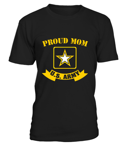 Proud Mom U.S. Army T-shirts
