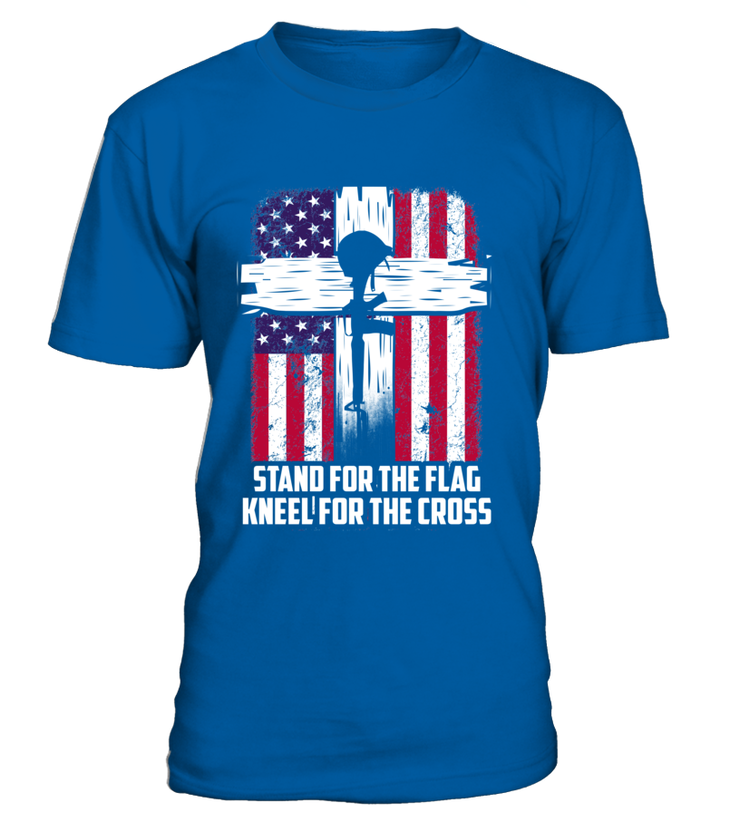 Military Kneel For The Cross T-shirts