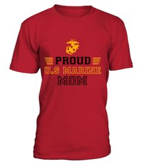 Personalized Finch Marine Mom T-shirts
