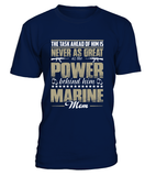 Marine Mom Power T-shirts