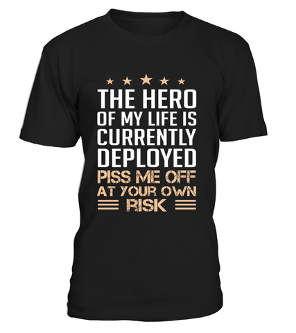 Military Mom Piss Me Off T-shirts
