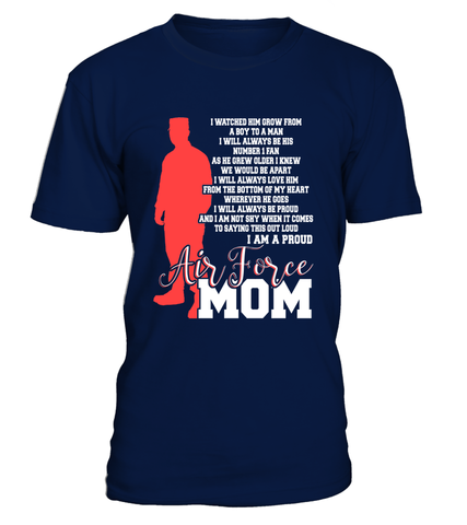 Air Force Mom Not Shy T-shirts