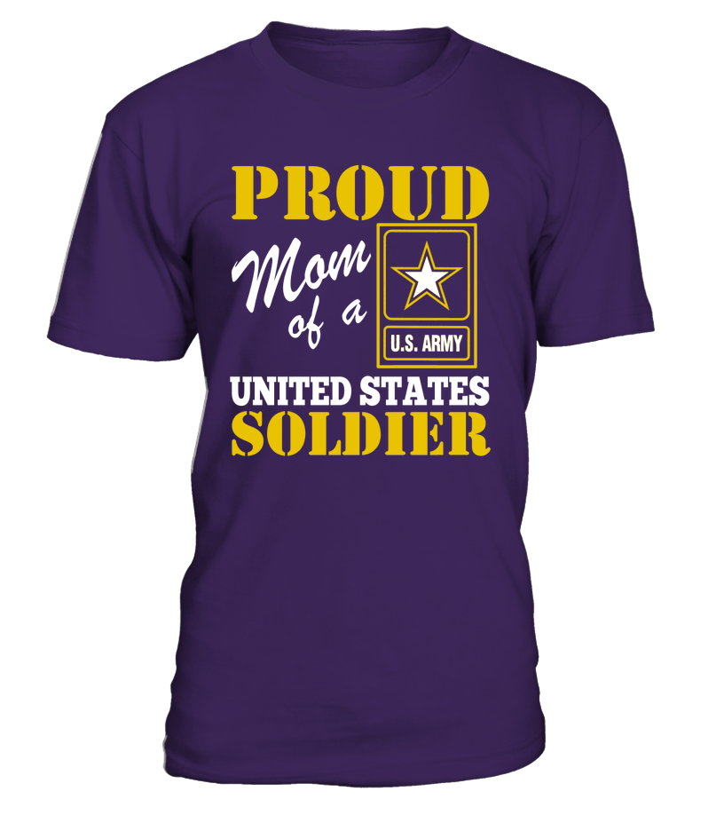 Proud Mom Of US Soldier T-shirts