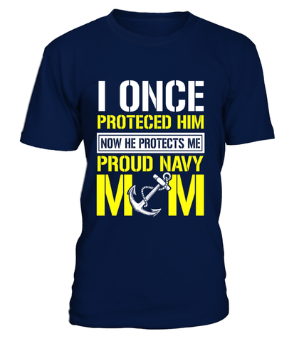 Navy Mom Protects T-shirts