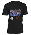 Proud Army Mom Distress T-shirts