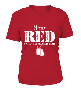 Army Wear RED T-shirts